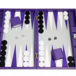 Premium Backgammon Board Set by Silverman and Co.