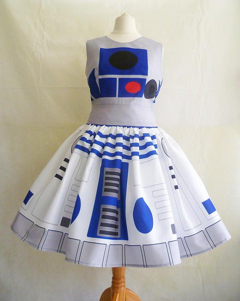 R2-D2 Star Wars dress