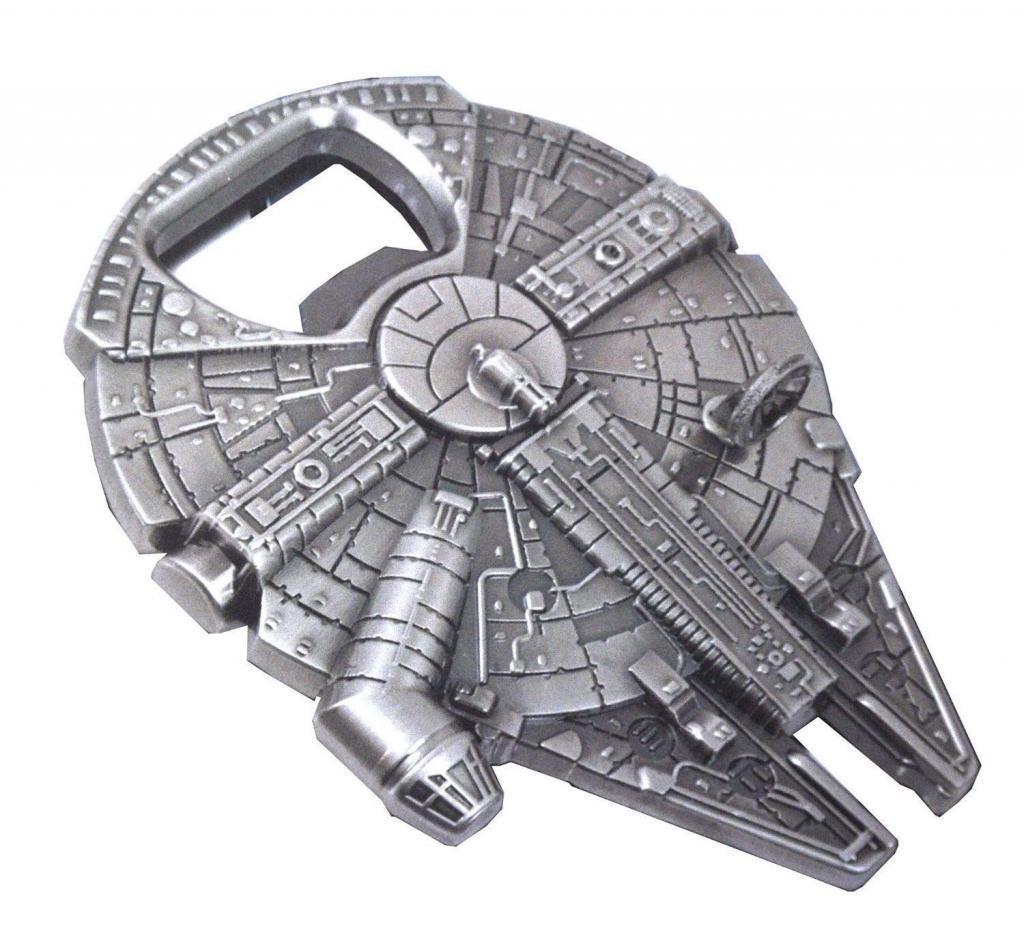 Star Wars kitchen gadget: Millennium Falcon bottle opener