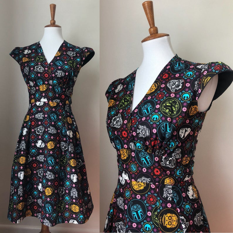 Retro Star Wars dress for adults
