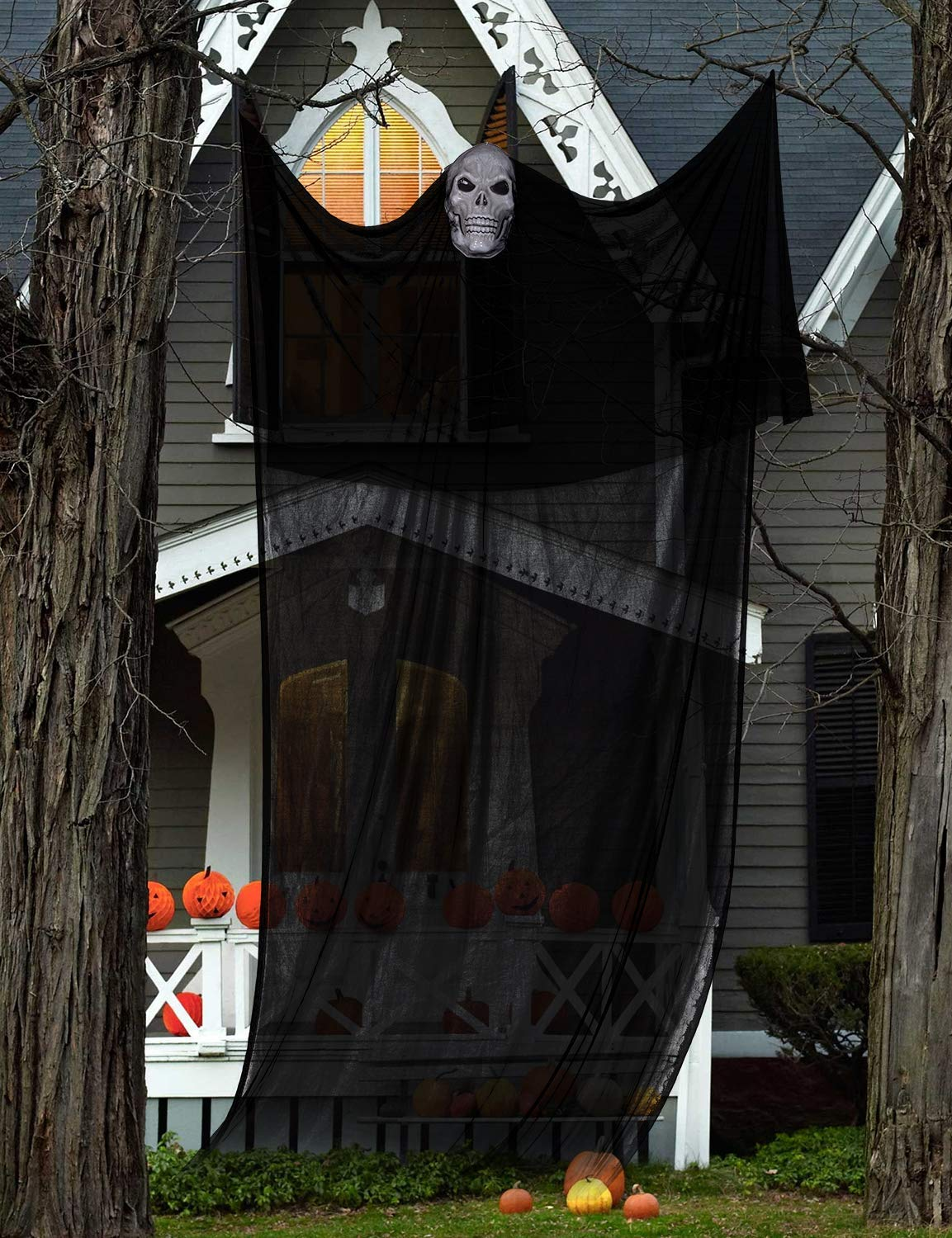 Scary Halloween Ghost Hanging Decoration for Indoor or