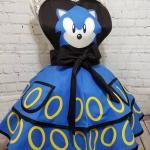 Sonic the Hedgehog halloween costume apron