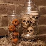 Spanish Moss Apothecary Jars