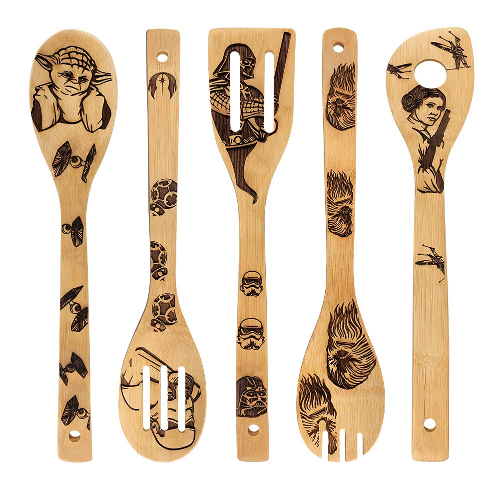 Star Wars kitchen accessory: wooden spoons