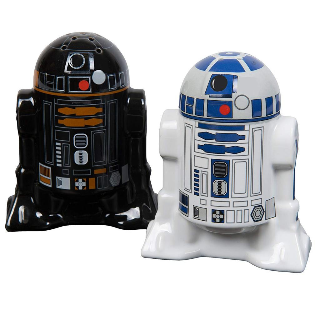 Star Wars kitchen accessory: droids salt and pepper holder