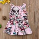 Stormtrooper Star Wars dress for toddlers