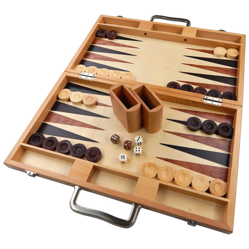 Wooden Backgammon Board
