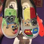 Bingo and Rolly Puppy Dog Pals handmade Shoes