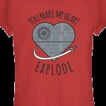 Star wars t-shirt for women