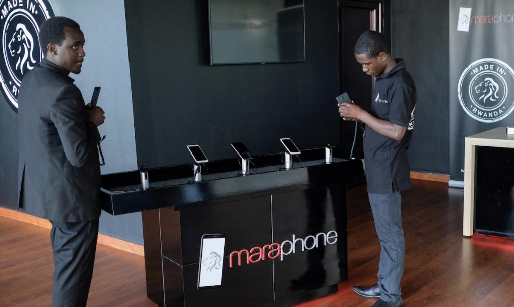 Africa's first smartphone is Mara X and Z