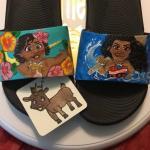 Moana Nike slides