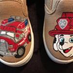 Nickelodeon's Paw Patrol Handmade Canvas Shoes