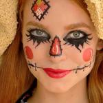 Scarecrow Face Temporary Makeup Tattoo by SugarTats