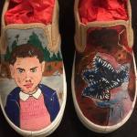 Stranger Things Custom Shoes