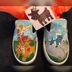 The Lion Guard kids shoes