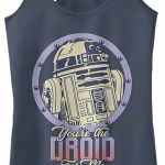 You're The Droid For Me Star Wars Racerback Tank Top