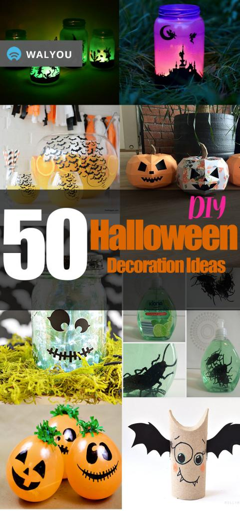 cool and easy decoration ideas for halloween