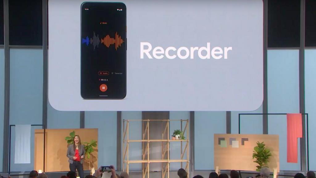 Google Recorder has a great UI