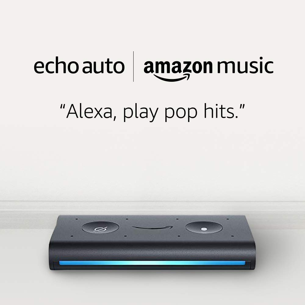 Echo Auto and 4 months of Amazon Music