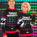 Official Space Invaders Christmas Ugly Sweater