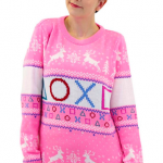 Playstation Official Pink Christmas Ugly Sweater