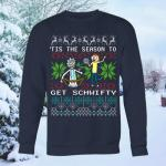 Rick & Morty Get Schwifty Ugly Christmas Sweater
