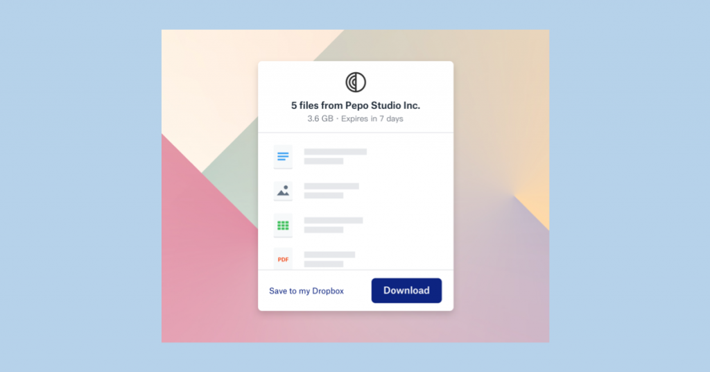 Dropbox Transfer is now available