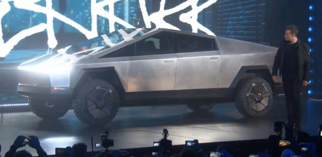 Tesla's Cybertruck announced