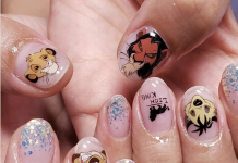 lion king nail art