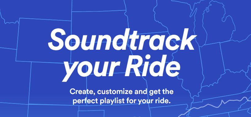 spotify's soundtrack your ride is perfect for travelers