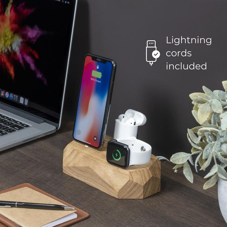 3 in 1 Charger for iPhone, Apple Watch and AirPods