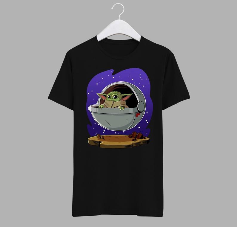 Baby Yoda Art T-Shirt