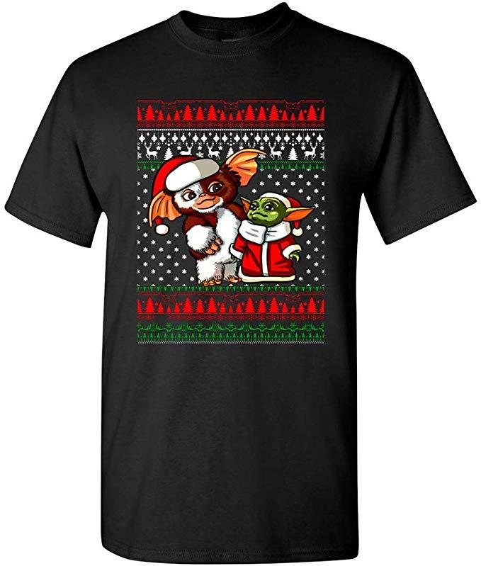 Kawaii Christmas Baby-Yoda T-Shirt