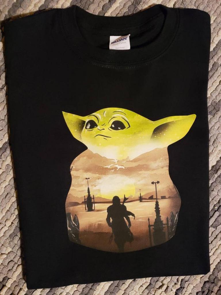 The Mandalorian inspired T-shirt