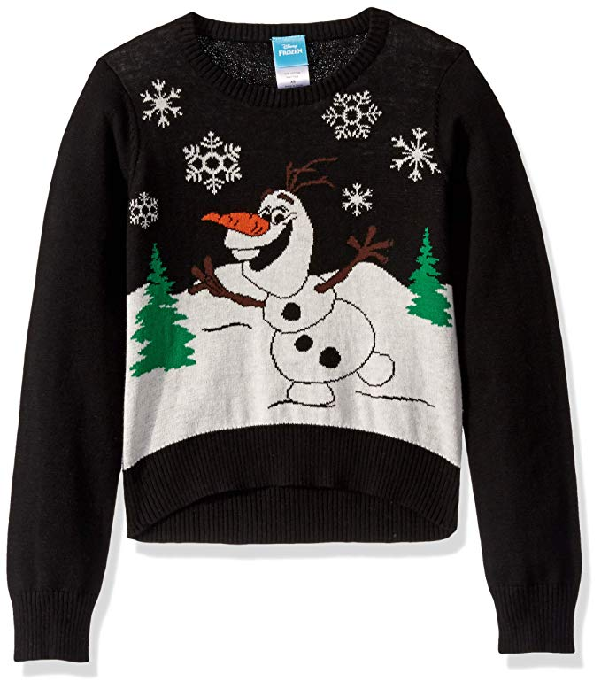 Disney Girls' Ugly Christmas Sweater