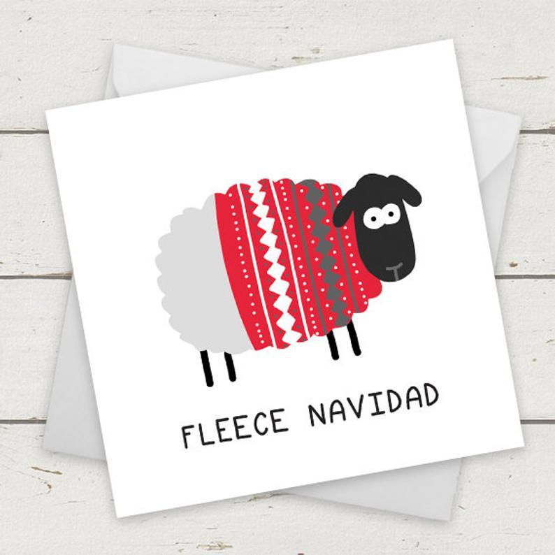 unique  Christmas Card