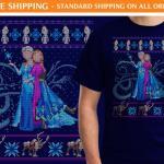 Frozen-Elsa-and-Anna-Ugly-Sweater-Shirt