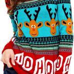Funny-Elk-Snowflakes-Xmas-Pullover
