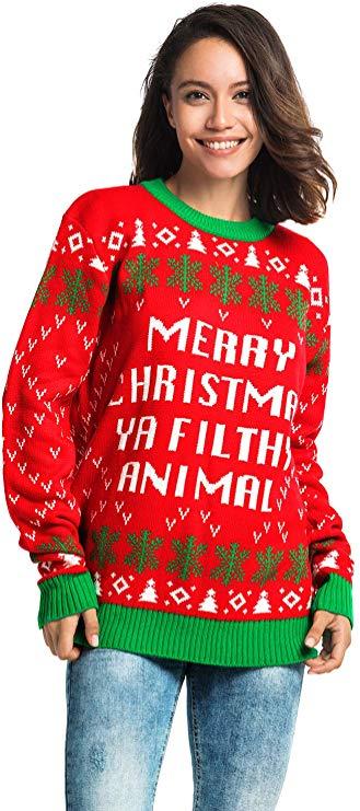 Funny Fairisle Filthy Animal Pullover