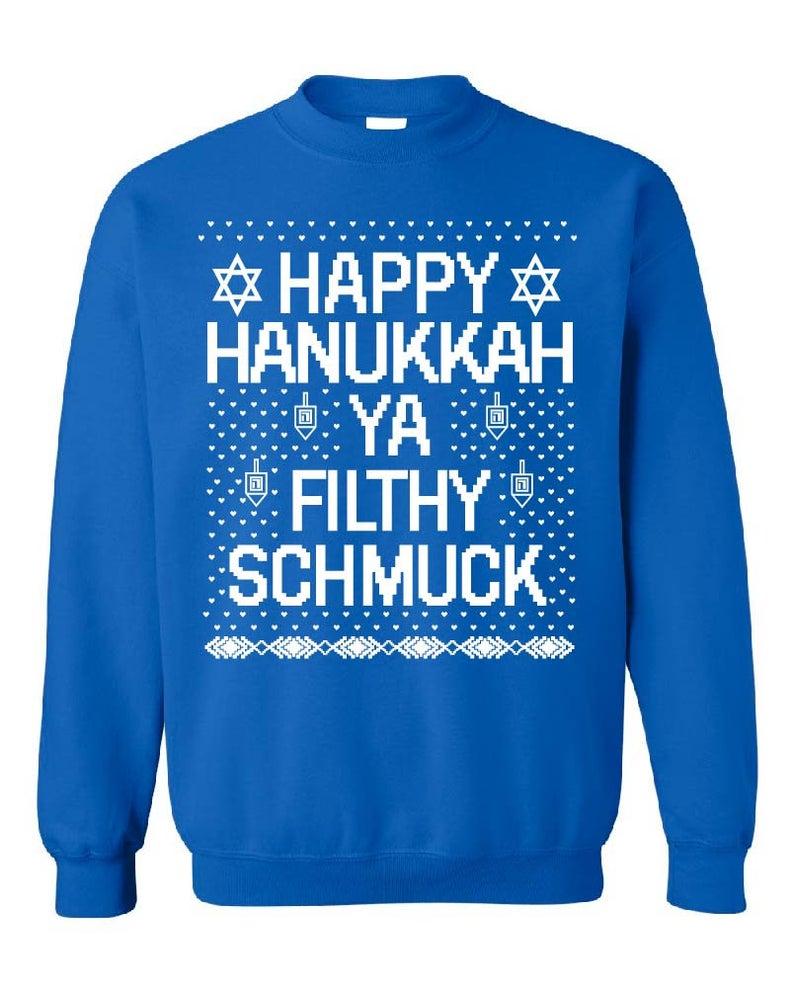 Funny Happy Hanukkah Sweatshirt