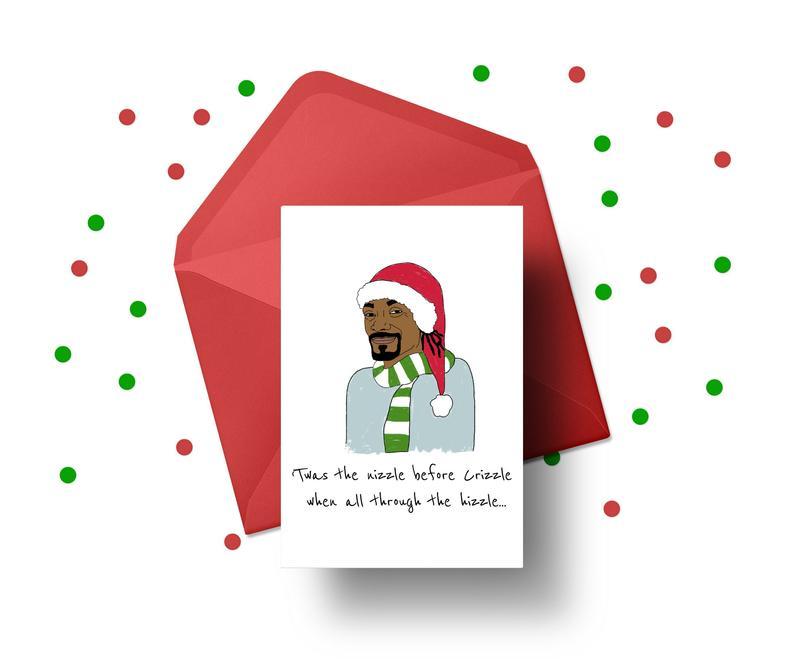 Snoop Dogg Christmas card