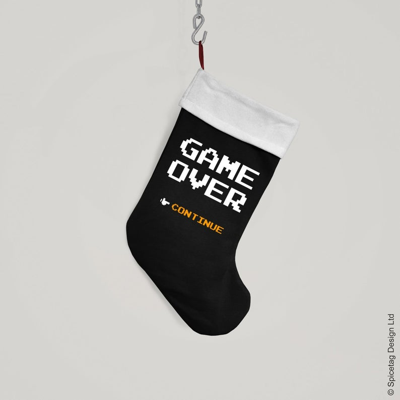 Game over gaming stocking