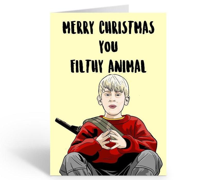 Home Alone funny Christmas card