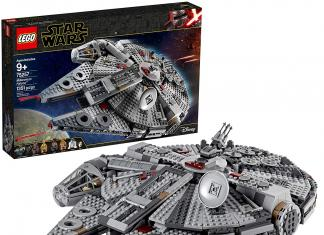 LEGO Star Wars Skywalker Millenium Falcon Starship Building Kit