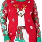 Llama-Christmas-Tunic-Christmas-Sweater