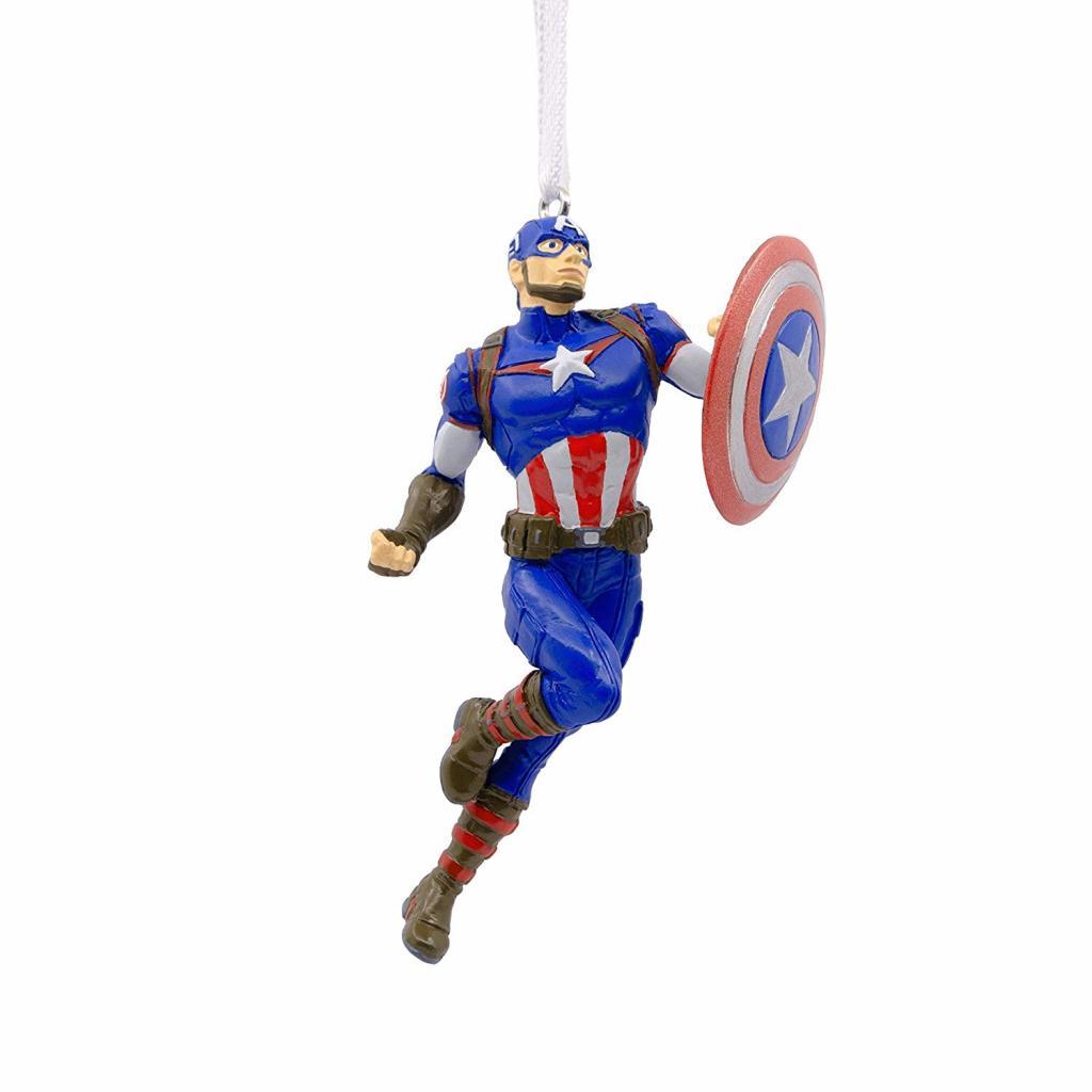 Captain America Christmas Ornament