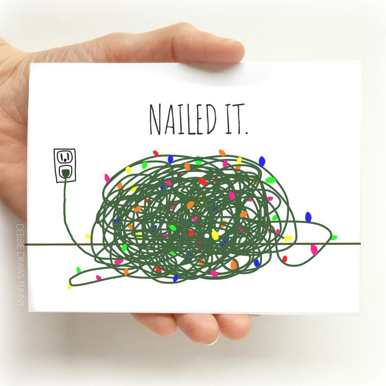 funny Christams card