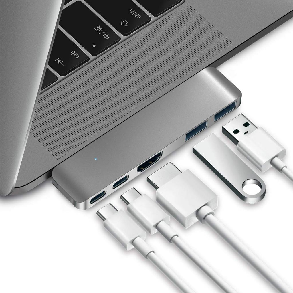 Purgo USB C Hub Adapter Dongle for 2019 MacBook Air