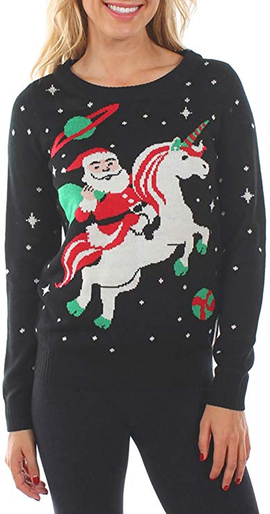 Santa Unicorn Christmas Sweater