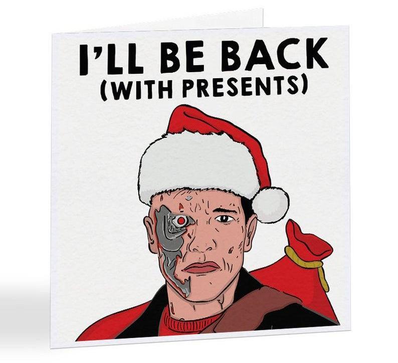 Terminator Christmas card